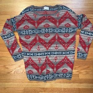 Denim & Supply Ralph Lauren Multi Crewneck Sweater